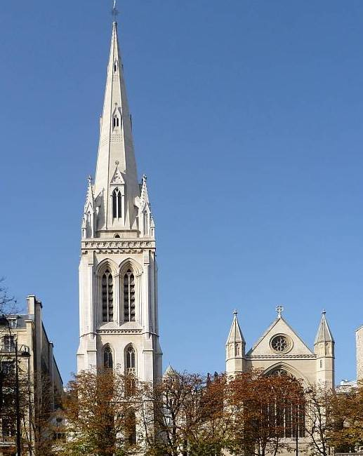 The American Cathedral in Paris